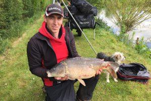 winner with carp